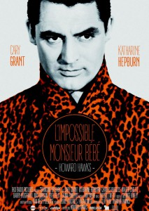 Affiche du film L'impossible monsieur bébé, d'Howard Hawks